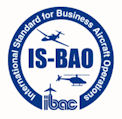 International Standard for Business Aircraft Operations Logo